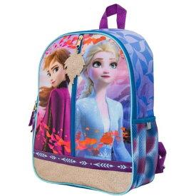 【送料無料+クーポン対象】Disney ディズニー Frozen アナと雪の女王 女の子用エルサxアナグラフィックお出かけ用リュックサック バックパック カバン 鞄 デイバッグ 旅行 エルサ オラフ