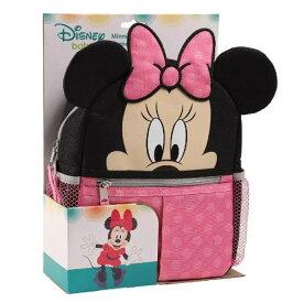 【送料無料+クーポン対象】Disney ディズニー Minnie Mouse 女の子用ミニーマウスお出かけ用ハーネス付きリュックサック バックパック 迷子 ひも 安全 頭 転倒 防止 事故 旅行