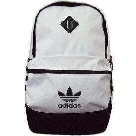 【日本未発売商品】 adidas originals Trefoil backpack アディダス オリジナルス ホワイトトレフォイルxストライプロゴ入りバックパック リュックサック 小物・ブランド雑貨 デイバッグ 【ラクーポンで送料無料】【楽ギフ_包装選択】