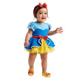 Disney ディズニー Snow White 白雪姫スカート付き半袖ボディースーツxヘッドバンド2点セット ロンパース パジャマ ヘアアクセサリー プリンセス ハロウィン 変装 衣装 【ラ・クーポンで送料無料】【楽ギフ_包装選択】