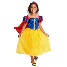 Disney ディズニー Snow White 95-155cm 女の子用白雪姫コスチュームドレス ワンピース コスプレ ハロウィン Halloween 衣装 変装 プリンセス 【ラクーポンで送料無料】【楽ギフ_包装選択】