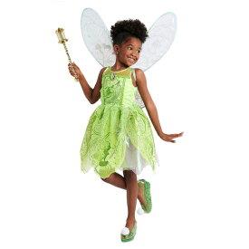 Disney ディズニー Tinker Bell 95-155cm 女の子用ティンカーベルコスチュームドレス ワンピース コスプレ ハロウィン Halloween 衣装 変装 プリンセス 【ラクーポンで送料無料】【楽ギフ_包装選択】
