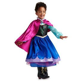 Disney ディズニー アナと雪の女王 Frozen 95-158cm 女の子用アナコスチュームドレス ワンピース コスプレ ハロウィン Halloween 衣装 変装 プリンセス 【ラクーポンで送料無料】【楽ギフ_包装選択】