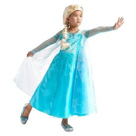 Disney ディズニー アナと雪の女王 Frozen 95-158cm 女の子用エルサコスチュームドレス ワンピース コスプレ ハロウィン Halloween 衣装 変装 プリンセス 【ラ・クーポンで送料無料】【楽ギフ_包装選択】