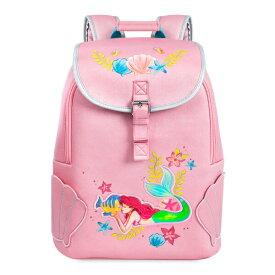 Disney ディズニー The Little Mermaid リトルマーメイド ベビーピンクアリエルお出かけ用リュックサック バックパック カバン 鞄 デイバッグ 旅行 【ラ・クーポンで送料無料】