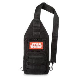 Disney ディズニー Star Wars スターウォーズロゴお出かけ用スリングリュックサック バックパック カバン 鞄 デイバッグ 旅行 【ラ・クーポンで送料無料】