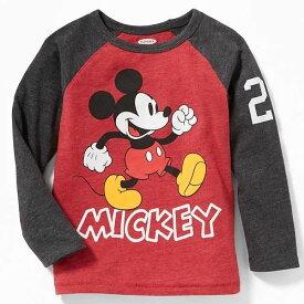 OLD NAVY Disney オールドネイビー ディズニー ミッキーマウス長袖Tシャツ ロンT コーデトップス Mickey Mouse 【ラクーポンで送料無料】【楽ギフ_包装選択】