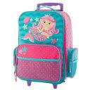 ステファンジョセフ 女の子用ピンクマーメイドGO-GOキャリーケース 直立型 【6歳以上対象】 トローリー キャリーバッグ スーツケース …