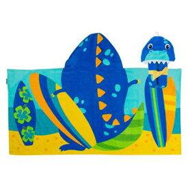 【送料無料+最大4%クーポン対象】ステファンジョセフ Stephen Joseph 男の子用サーファー恐竜さんなりきりフード付きタオル バスタオル ビーチタオル 日焼け防止グッズ プール 海水浴 【楽ギフ_包装選択】