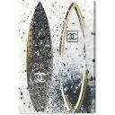 【送料無料◎P6倍】【安心の国内発送】 Oliver Gal オリバーガル 約76x51cm SURFING DUO COCO シャネル CHANEL キャンバスアート イン…