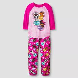 L.O.L. Surprise! L.O.L. サプライズ! 4-12歳用 女の子用Sassy Glam Cool 長袖パジャマ上下2点セット スリープウェア LOLサプライズ エルオーエルサプライズ プレゼント 【ラ・クーポンで送料無料】