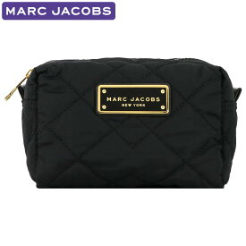 マークジェイコブス MARC JACOBS 小物 ポーチ M0011326 001 キルティング アウトレット レディース アクセサリー 新作 ギフト プレゼント 有料ラッピング可能