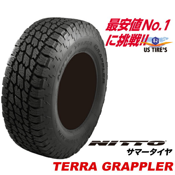 265/50R20 111S XL テラ グラップラー ニットー TERRA GRAPPLER オールテレーン タイヤ NITTO TIRES 265-50-20 国産 265 50 20インチ SUV 取寄商品