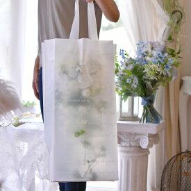 手提げ袋 Lサイズ縦長 【手提げ袋は、当店のフラワーアレンジメントをご購入される場合 に同時購入していただくことで送料無料です】手提げ袋単体でのご購入はキャンセルとなりますので予めご了承いただきますようお願い申し上げます。