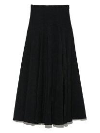 ヘムフレアボリュームスカート SNIDEL スナイデル スカート ロングスカート ブラック パープル【送料無料】[Rakuten Fashion]