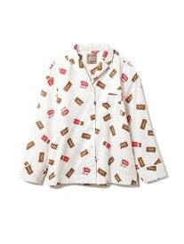 【Lotus】シャツ gelato pique ジェラートピケ シャツ/ブラウス シャツ/ブラウスその他 ホワイト【送料無料】[Rakuten Fashion]