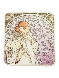 【ミュシャと椿姫】ハンドタオル gelato pique ジェラートピケ ファッショングッズ ハンカチ/タオル ホワイト[Rakuten Fashion]