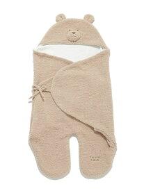 【BABY】 'ベビモコ'くまクッキー baby ブランケット gelato pique ジェラートピケ マタニティー/ベビー ベビー用品 ホワイト レッド【送料無料】[Rakuten Fashion]