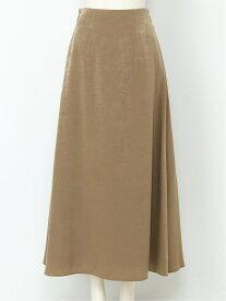 [Rakuten Fashion]サテンマーメイドSK SNIDEL スナイデル スカート ロングスカート ブラウン ベージュ レッド【送料無料】