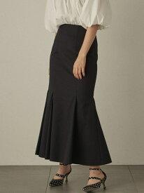 マーメイドスカート Lily Brown リリーブラウン スカート ロングスカート ブラック ホワイト ピンク【先行予約】*【送料無料】[Rakuten Fashion]