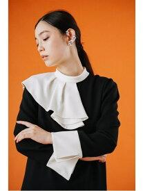 [Rakuten Fashion]アシメフリルカラーワンピース CELFORD セルフォード ワンピース ワンピースその他 ブラック ブルー【送料無料】