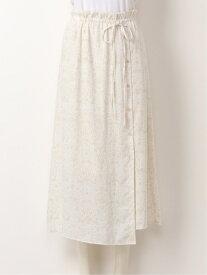 [Rakuten Fashion]リバティプリントフラワーSK SNIDEL スナイデル スカート ロングスカート ベージュ ブラック グリーン【送料無料】