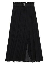 [Rakuten Fashion]アコーディオンプリーツシアースカート SNIDEL スナイデル スカート プリーツスカート/ギャザースカート ブラック ブラウン パープル【送料無料】