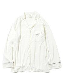 【SALE/30%OFF】パイルシャツ gelato pique ジェラートピケ インナー/ナイトウェア ルームウェア/トップス ホワイト ピンク ブルー【RBA_E】【送料無料】[Rakuten Fashion]
