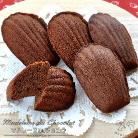 マドレーヌauショコラ(チョコレート味)プチギフトにオススメ たっぷりチョコレートの手づくり焼き菓子【RCP】