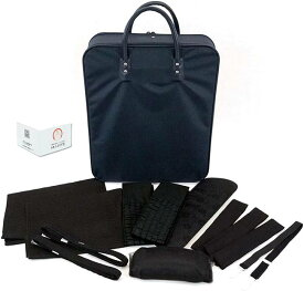 喪服用 和装小物13点セット バッグ付き 着付小物セット m-062 お葬式法事 DVD付き