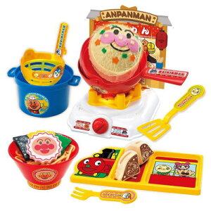 アンパンマン くるんと炒めてチャーハンも! アンパンマンラーメンDXセットジョイパレット181901知育玩具おもちゃ3歳ままごと【送料無料(北海道、沖縄、離島は配送不可)】