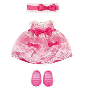 ピンクのおひめさまドレス  メルちゃんきせかえ 515136パイロットインキ 着せ替え人形 めるちゃん 知育玩具 ままごと 女の子