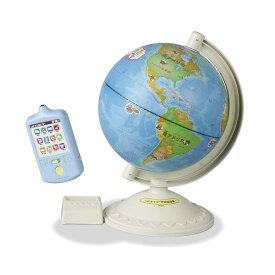 【送料無料(北海道、沖縄、離島は配送不可)】くにキャラ地球儀 ピープル おしゃべり地球儀 3歳から知育玩具 しゃべる地球儀 入園入学祝