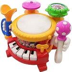 リズムあそびいっぱいマジカルバンドタカラトミーディズニーベビー楽器玩具