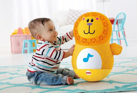 【数量限定目玉商品】ゆらゆら!ころりん!ライオンくん フィッシャープライス Fisher-Price マテル ベビー玩具 おもちゃ 知育玩具 6ヶ月〜【RCP】