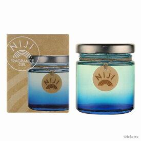 【車 芳香剤】NIJI(ニジ) ガラスボトル 選べる3つの香り/カラー