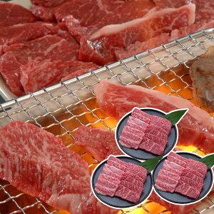 【送料無料】三大ブランド牛焼肉食べ比べセット(神戸ビーフ&松阪牛&近江牛) 600g