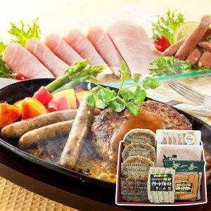 【送料無料】大阪 夢一喜フーズ工房 ハム・ウインナー詰合せ 5種 7個入