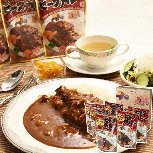 【送料無料】滋賀近江 松喜屋 味の手作り工房ビーフカレー 200g×6食入