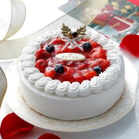 ≪期間限定ポイント5倍≫送料無料 クリスマスケーキにおすすめ! 銀座千疋屋 ベリーのレアチーズケーキ 直径15cm(3〜5人用)