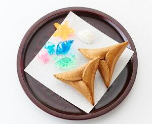クラゲドリーム館 オリジナルからから煎餅《5個 楽しい海の仲間入り☆ 加茂水族館 クラゲ からからせんべい お土産 山形 鶴岡  》