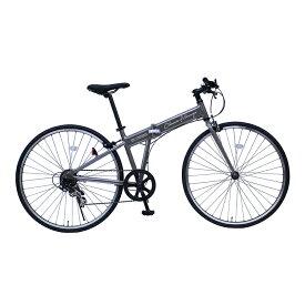 Classic Mimugo FDB700C 7SG No.MG-CM7007G クラシックミムゴ 自転車 クロスバイク 7段ギア ガンメタ おしゃれ ミムゴ [送料無料][代引不可]