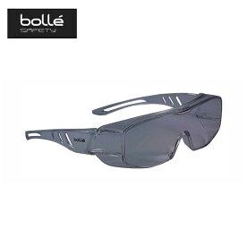保護メガネ オーバーライト 2 フリーサイズ No.1680502 OVERLIGHT2 スモークレンズ メガネの上から 防曇 耐傷性 スポーツ アウトドア bolle A工D 送料無料