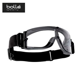 保護メガネ X800 フリーサイズ No.100800110 タクティカル ブラック クリアレンズ 防曇 耐傷性 サバゲー スポーツ アウトドア bolle A工D