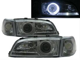 ボルボ ヘッドライト S70 1996-2000 GLASS CCFL Projector LED Headlight Headlamp CHROME for VOLVO LHD VOLVO LHD用S70 1996から2000 GLASS CCFLプロジェクターLEDヘッドライトヘッドランプCHROME