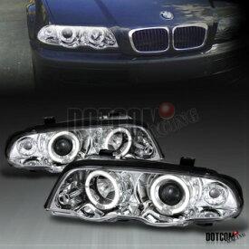 BMW ヘッドライト BMW E46 325i 328i 330i 4DR PROJECTOR HEADLIGHTS PAIR CHROME BMW E46 325I 328i 330I 4DRプロジェクターヘッドライトPAIR CHROME