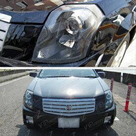 クライスラー キャデラック ヘッドライト 2003-2007 Cadillac CTS Base Sport Luxury Black Factory Style Headlights Assembly 2003-2007キャデラックCTSベーススポーツラグジュアリーブラックファクトリースタイルヘッドライトアセンブリ