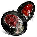 フォルクスワーゲン テールライト 1998-2005 VW New Beetle Altezza Tail Lights Brake Lamp Black 1998-2005 VWニュ…