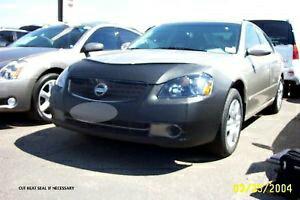 日産 Altima フルブラ Lebra Front End Cover Mask Bra Fits Nissan Altima 2005 2006 リブラフロントエンドカバーマスクブラは、2006年2005年日産アルティマに適合します