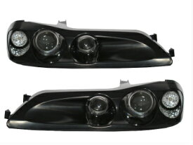 日産 シルビア ヘッドライト SILVIA S15 200SX 1999-2002 Dual Projector Headlight UNPAINTED for NISSAN シルビアS15 200SX日産のための1999から2002のデュアルプロジェクターヘッドライト塗装されていません
